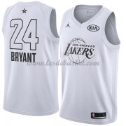 Maillot NBA Pas Cher Los Angeles Lakers Kobe Bryant 24# White 2018 All Star Game Swingman..